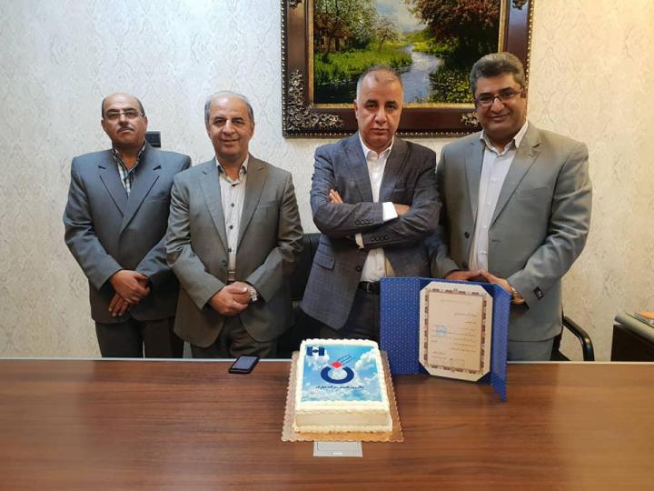 بزرگداشت سی امین سالروز تاسیس شرکت داروسازی نصر توسط بانک صادرات ایران